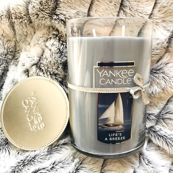BRAND NEW Yankee Candle Life's a Breeze Tumbler